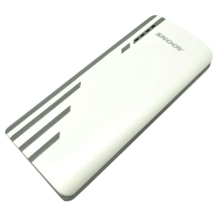 TERMURAH !! - TERMURAH SNOOY Power Bank 3 Color Strip 3 USB Port 10400mAh
