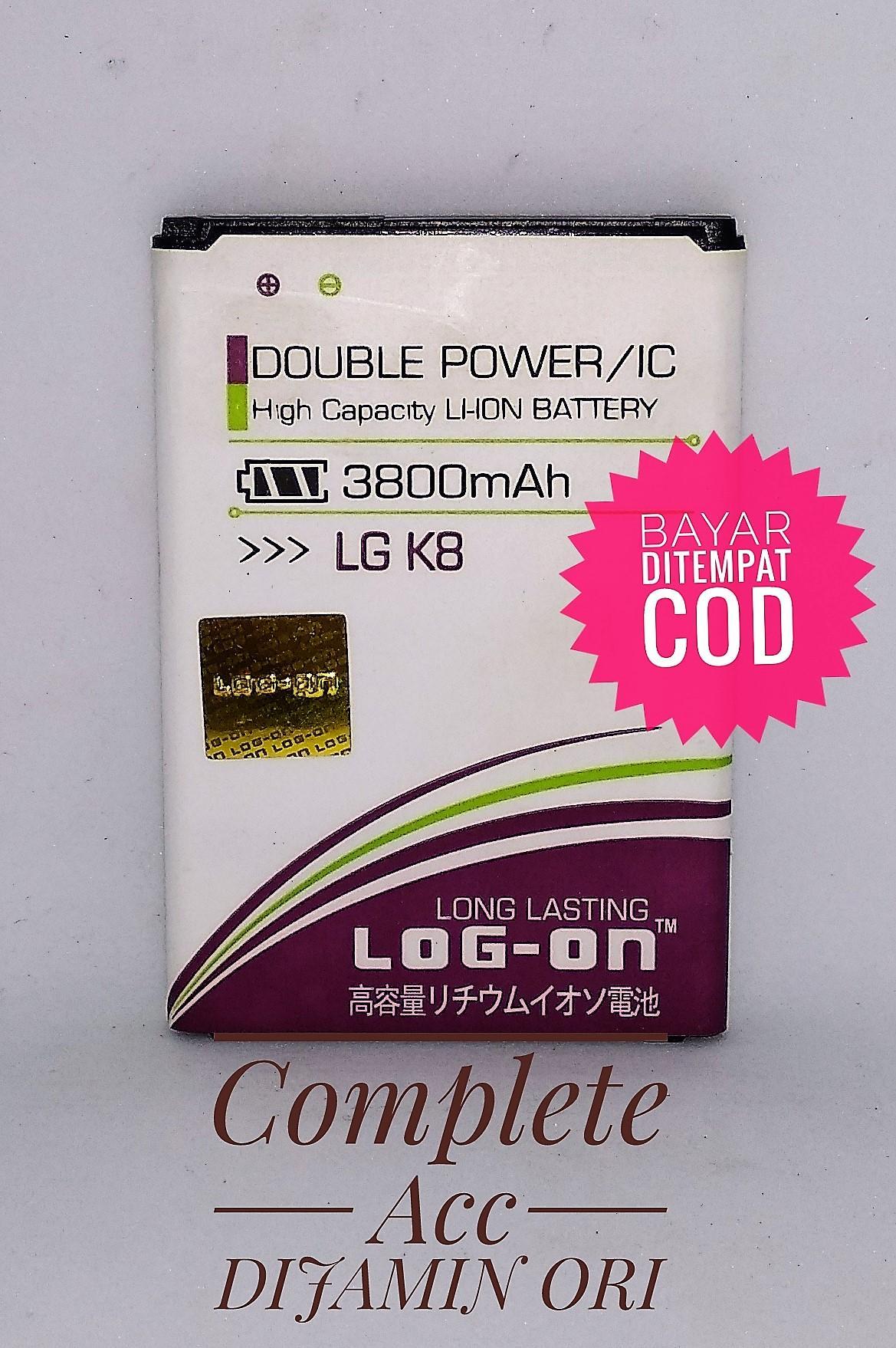 Baterai Battery Batre LG/K8/K350K/BL-46ZH Log On Double Power