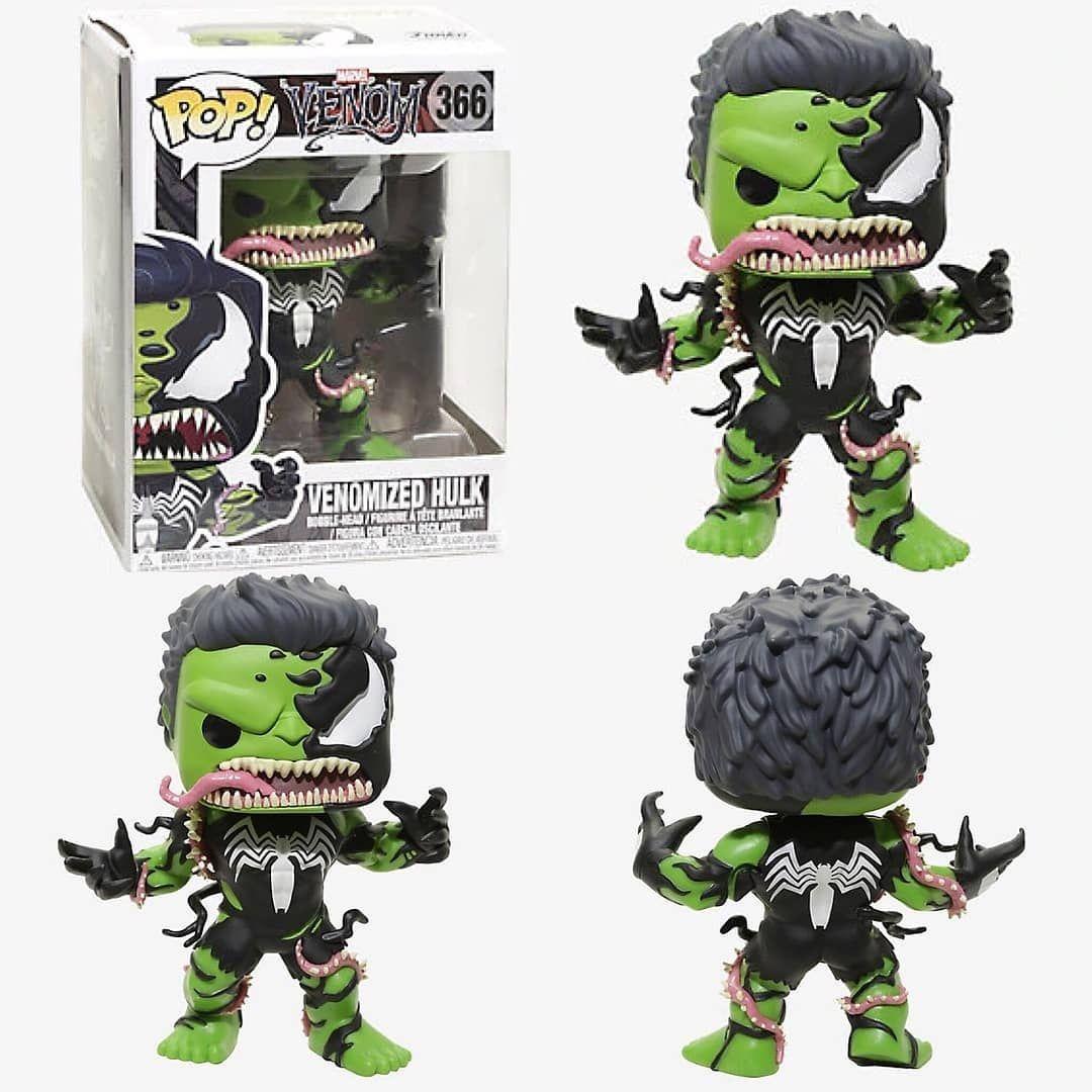 Venom Vinyl Venomized Hulk Pop