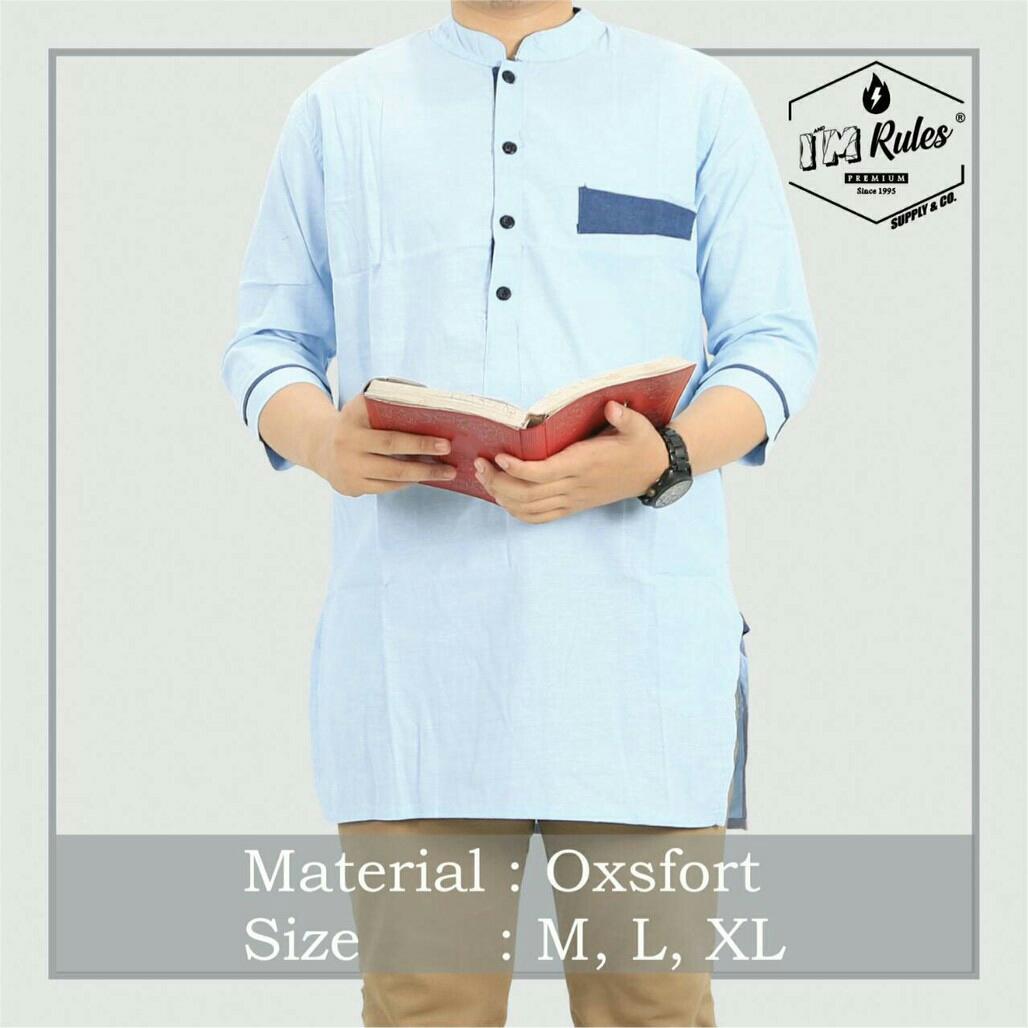 Jual Pakaian Baju Atasan Quarta Premium Pria Hg85 Good Quality By Hqshop.id.