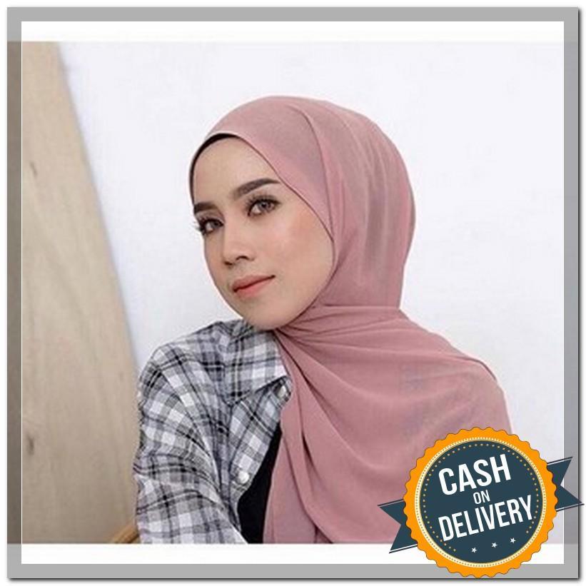 Hijab Pasminah Baby Doll / Pasminah Sabyan ceruty/ kerudung sabyan pasminah / NEW Hijab Pasmina Crinkle / Jilbab Pashmina Crinke / Kerudung Phasmina Cinkle / Jibab Hijub Pasmina Hijab Pasmina Tringkel / Polos Basic Panjang Warna Terlengkap MURAH - ARS