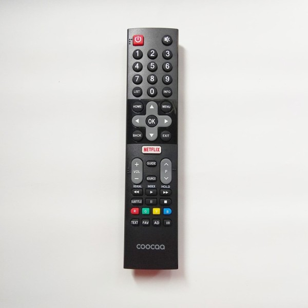 REMOT REMOTE TV COOCAA LCD LED SMART TV ANDROID NETFLIX ORIGINAL TERLARIS