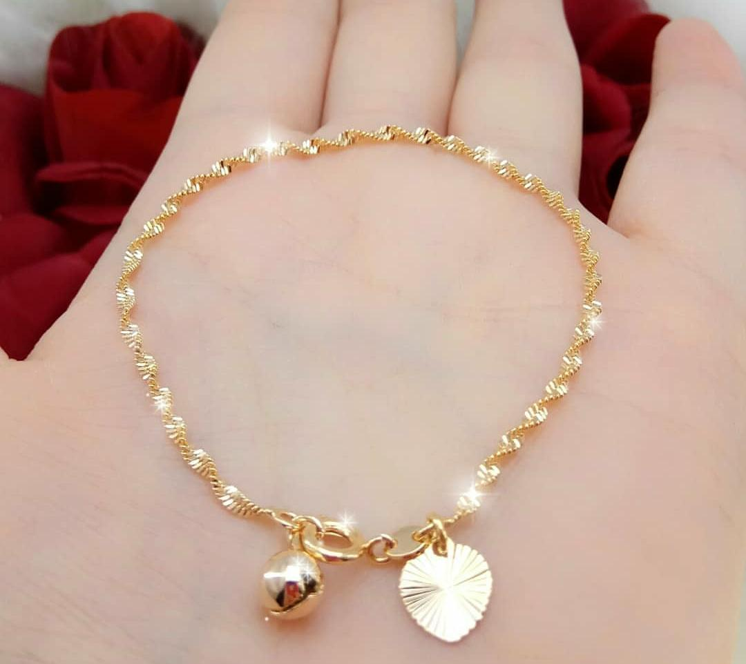 Gelang Tangan Fashion Melintir Gold By Freestore_.