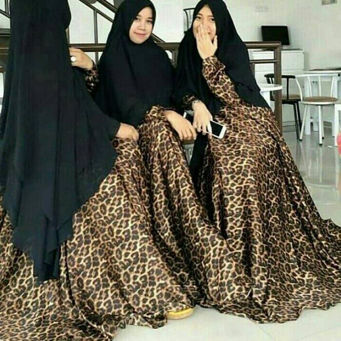 Syar'i Leopard Hijab