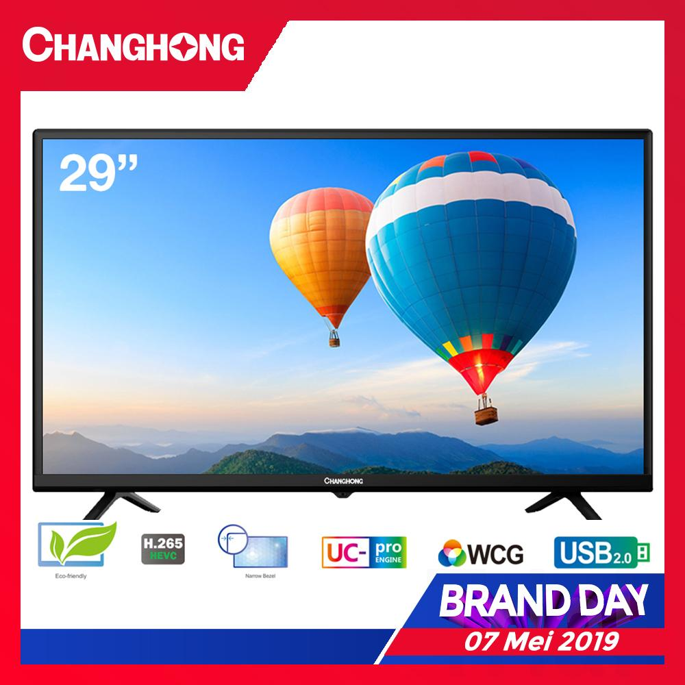 [FLASH SALE 7 Mei 2019 - 00.00] CHANGHONG LED TV 29 Inch - HD TV - USB/HDMI - L29G3A - Garansi Resmi 3 Tahun