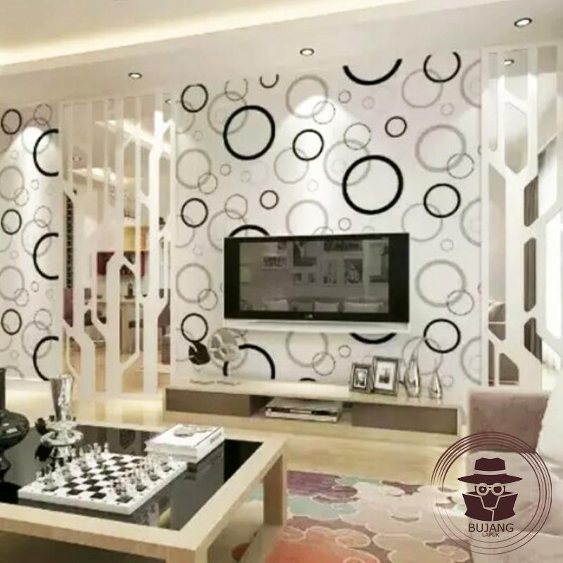 Bujang Lapuk Wallpaper Stiker Dinding Motif Dan Karakter, Wallpaper, Stiker Dinding Premium Quality Size 45cm X 5m Polkadot Bj017 By Bujang Lapuk.