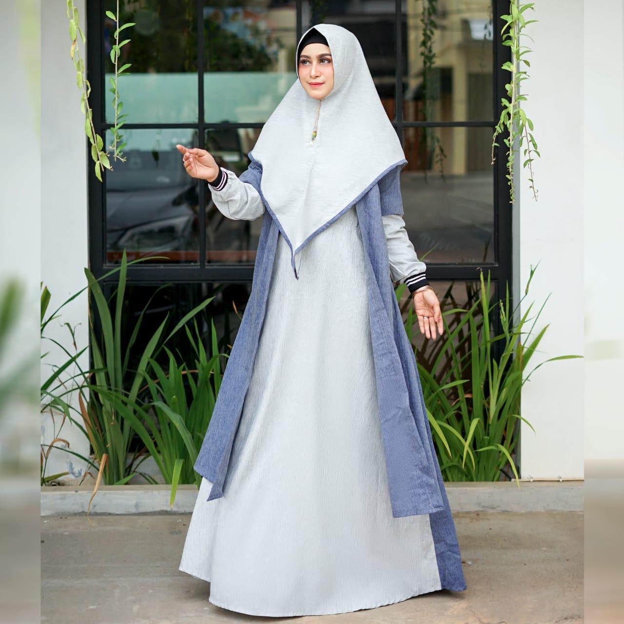 gamis \ gamis syari \ dres \ abaya \ tunik \ original \ baju muslim \ terbaru \ cod \ sale \ discount \ grosir \ distributor \ tanah abang \ jakarta \ pgmta \ metro \ thamrin city \ hijab \ hijabers \ moratabyn2 \ dress Morata