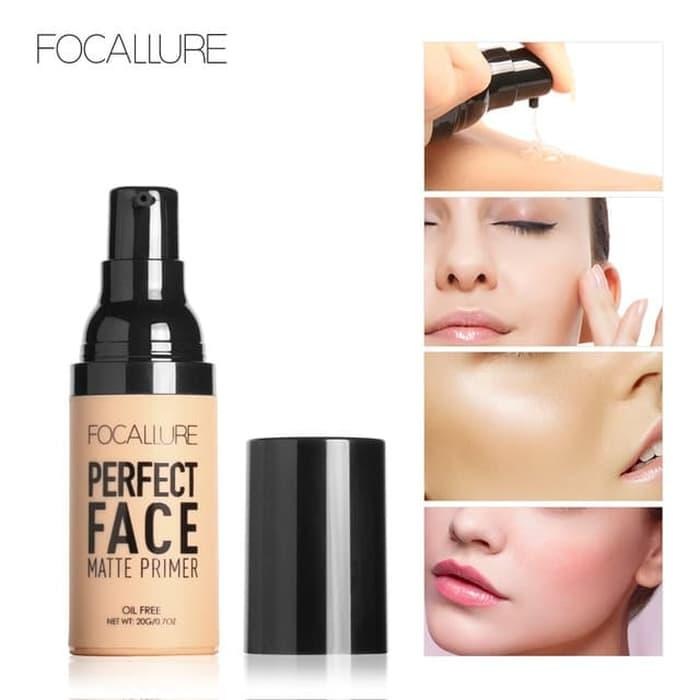 [ready] Ori 100% Bpom Focallure Makeup Face - Focallure Perfect Face Matte Primer Waterproof By Lababar Shop.