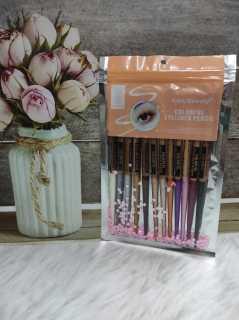 EYELINER 12 COLORS FULL And Gliter pencil Kiss Beauty thumbnail