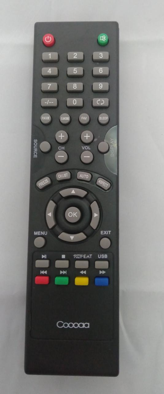 Remot TV Cooca / Remote Led-Lcd Cooca free baterai
