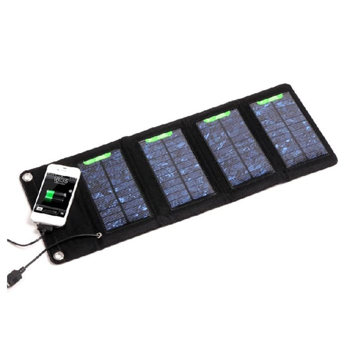 Hanya melayani order dalam pulau jawa! Foldable Solar Power Bank (Kapasitas 7 Watt menggunakan 4 Solar Panel) Sedia Juga Powerbank fast charging 3a/case Powerbank fast charging/Powerbank fast/baseu/s fast charging powerbank