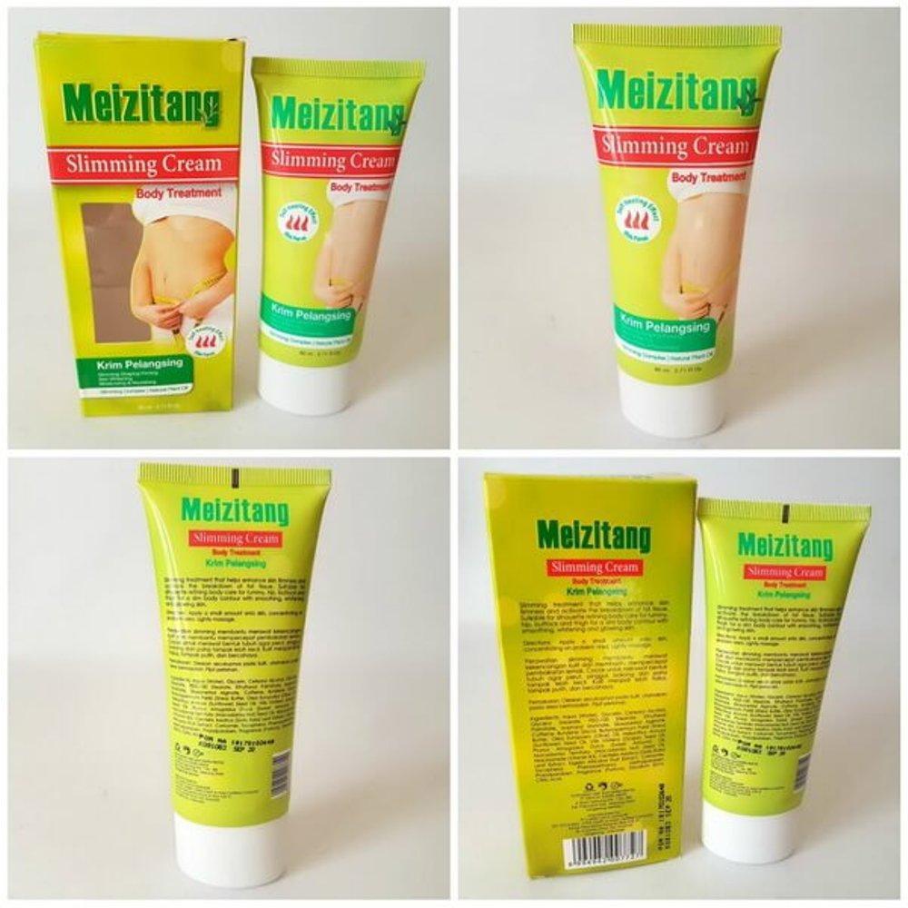 Original [BPOM] Meizitang Slimming Cream Pelangsing badan Pelangsing perut ampuh Pelangsing aman BPOM