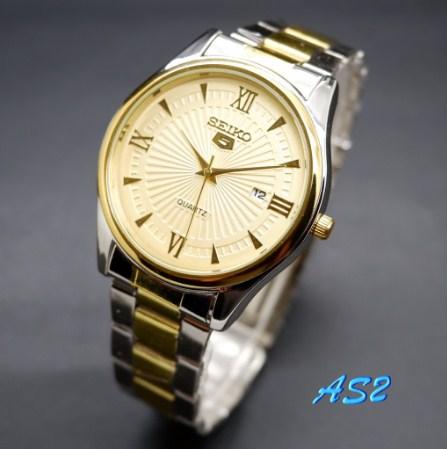 PROMO Jam Tangan Pria Seiko 5 Rantai Date Aktif Romawi//Jam tangan terbaru /Jam tangan termurah/Jam tangan terlaris/Jam tangan digital /Jam tangan analog /Jam Tangan Pria /Jam Tangan Wanita /Jam tangan couple