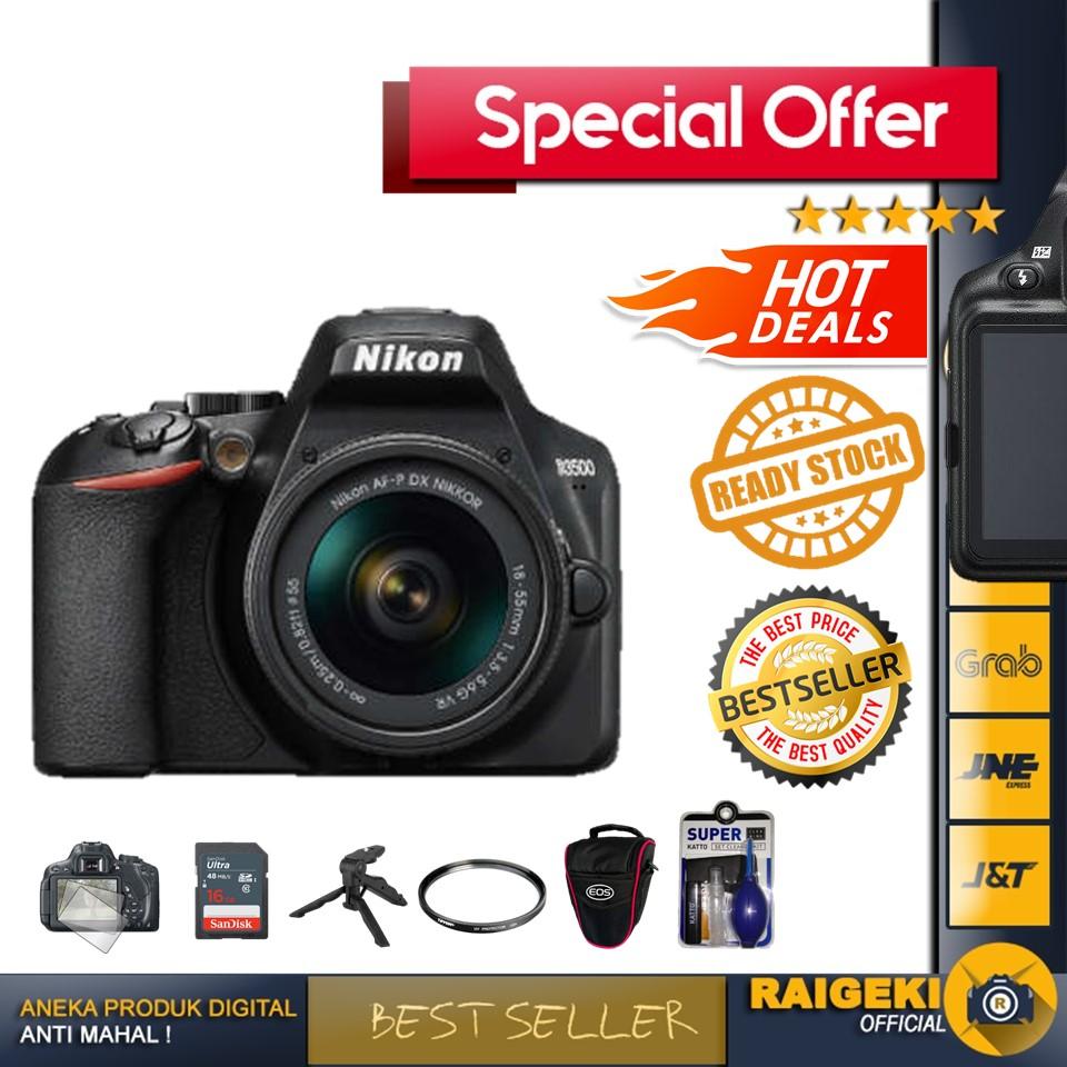 Nikon D3500 Kit 18-55mm DSLR Camera