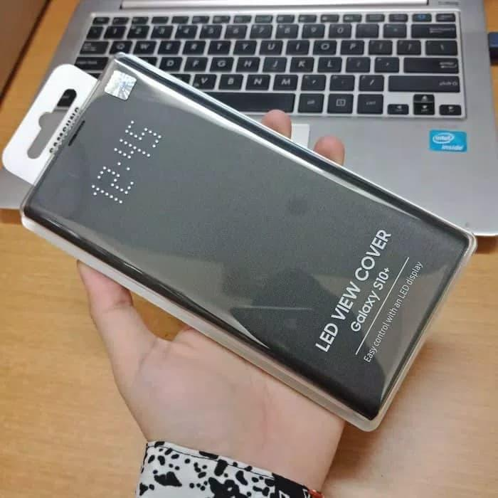 SAMSUNG LED VIEW COVER Samsung galaxy s10 flip case asli