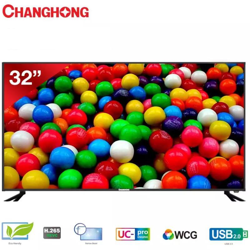 Changhong 32E6000 LED TV - Black [32 Inch] garansi resmi