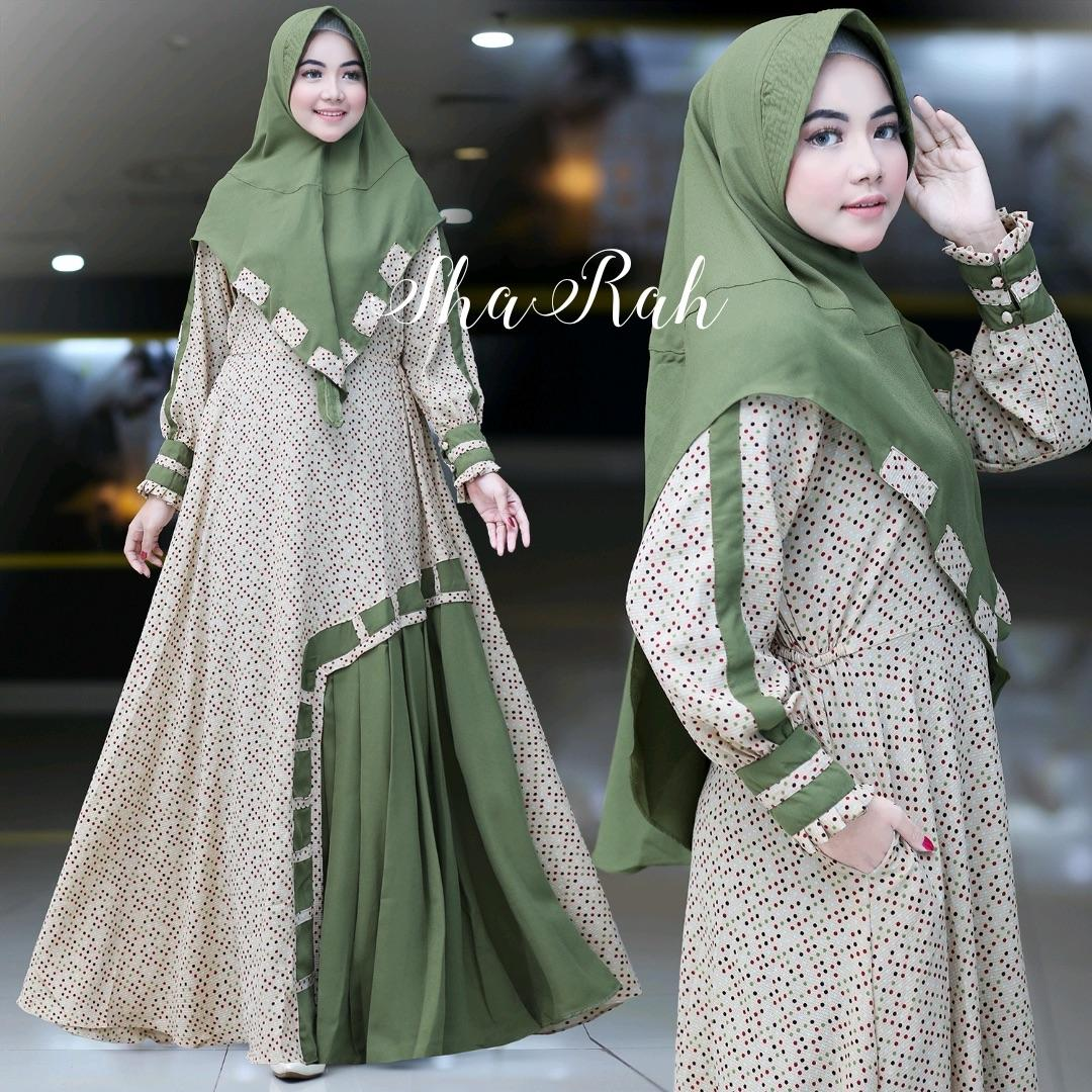 SHARAH By.Humaira Hijab Gamis Branded ORIGINAL 10%, Limited Collection