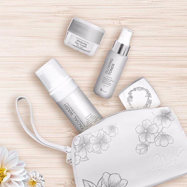 Paket MS Glow Whitening BPOM Original Kulit Normal Pencerah Perawatan Wajah Day Night Cream Krim Siang