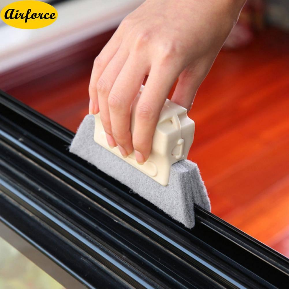 Airforce Multipurpose Window Groove Cleaning Cloth Clean Brush Windows Slot Cleaner Tool