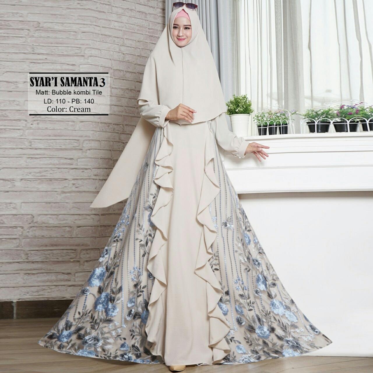 GAMIS PESTA BELITA JUMBO BY ... Source ... Gamis Syari / Baju Muslim / Fashion Muslim / Setelan Muslim / Hijab .