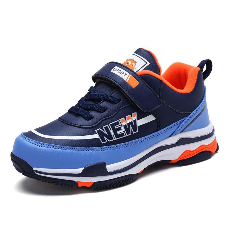 3 musim gugur anak laki-laki 5 6 sepatu olahraga anak 7 8 9 besar 558d358bea