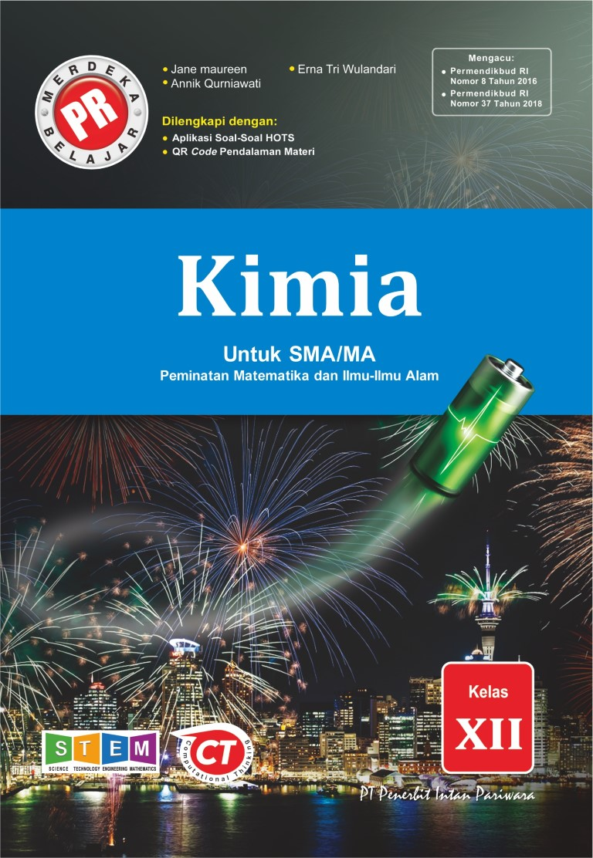 Buku Pr Kimia Kelas 12 Lks Intan Pariwara 2020 2021 Lazada Indonesia