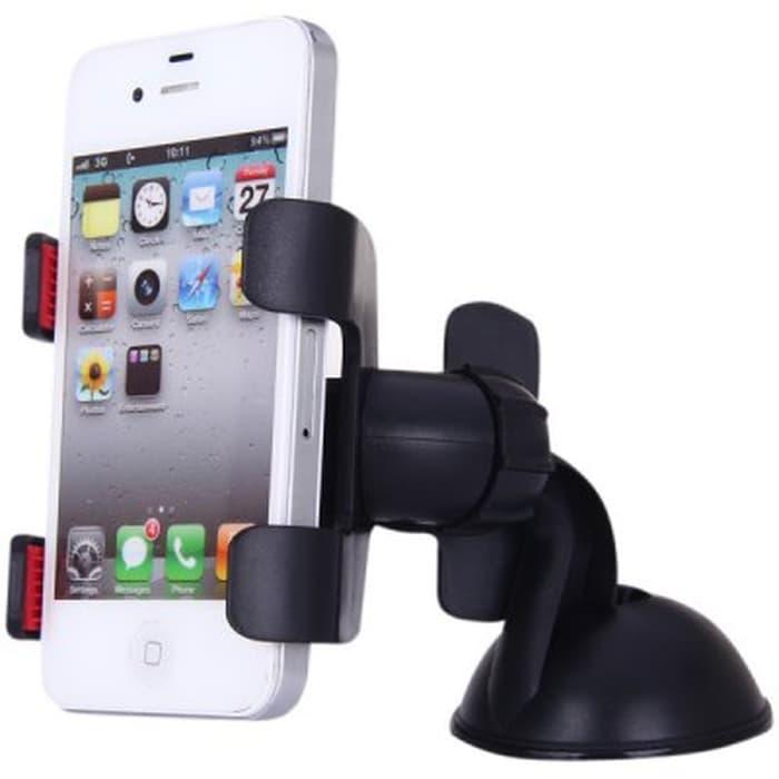 WATCH'- Lazy Tripod Car Mount Holder for Smartphone - WF-329 - Black