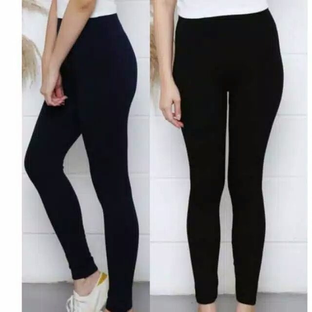 Legging Wanita Legging Import Leging Polos Wanita Warna M L Xxl Import Lazada Indonesia