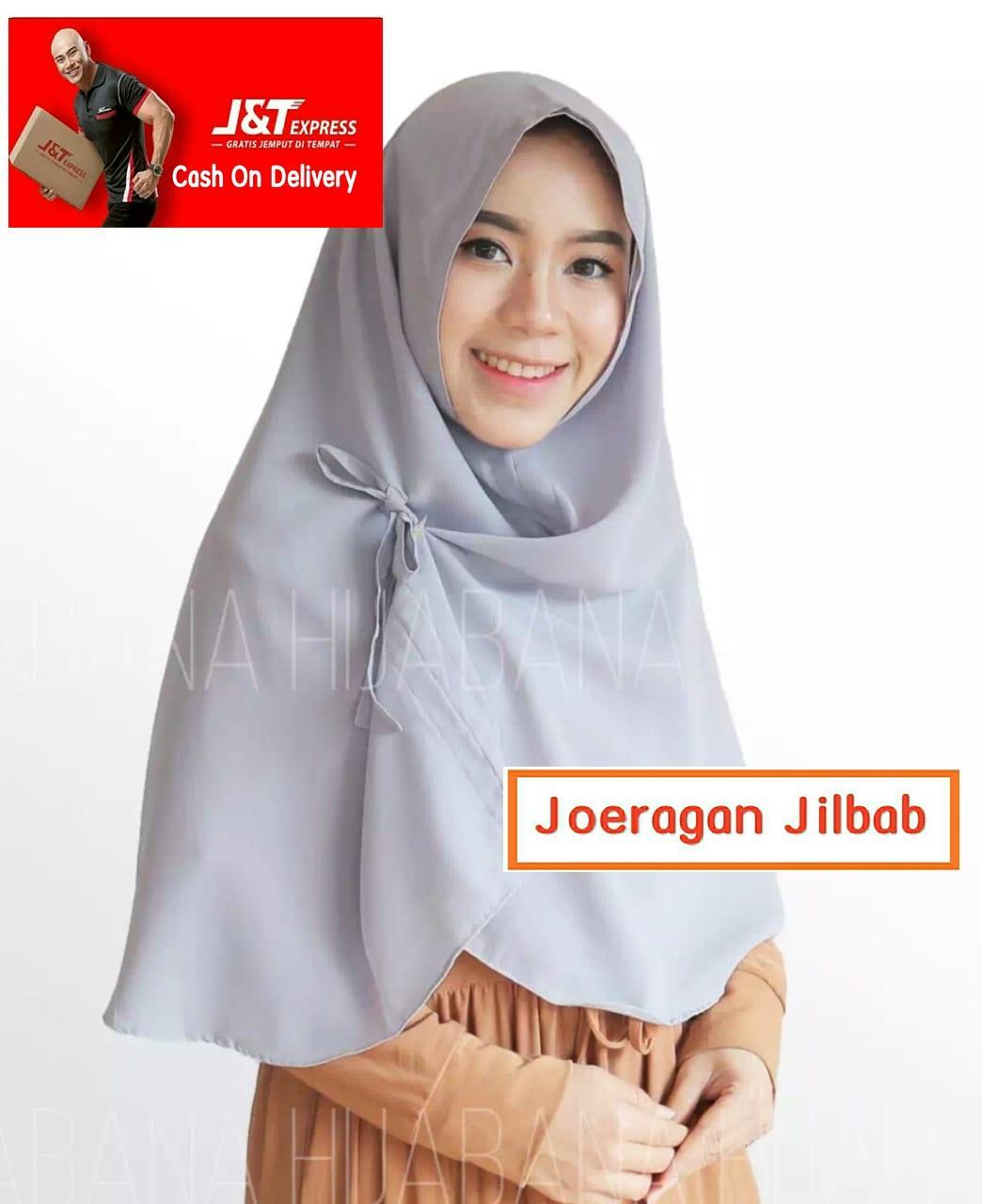 Jilbab Instan Khimar Aurora Non Pet