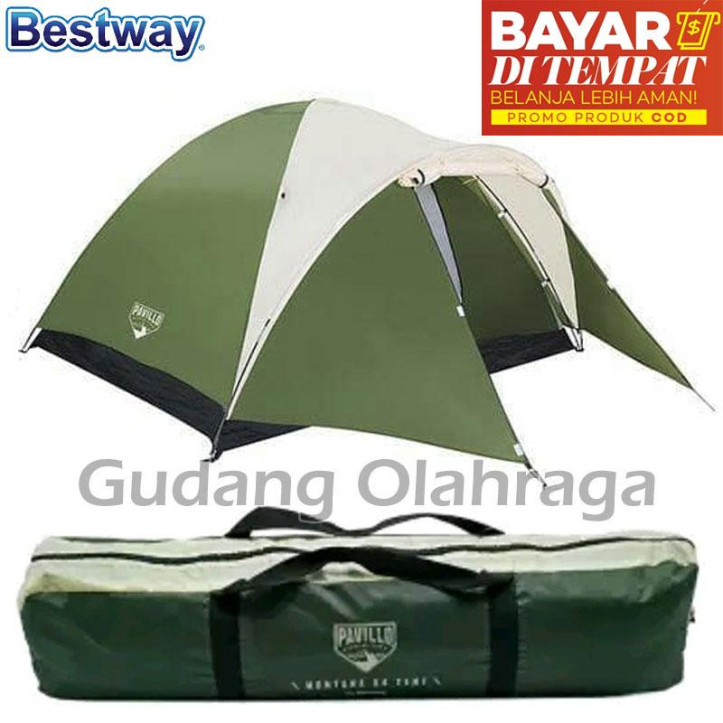 0809c3175 Indonesia. Bestway Tenda Camping Dome 4 Orang Montana Pavillo X4 Tent 68041  Double Layer
