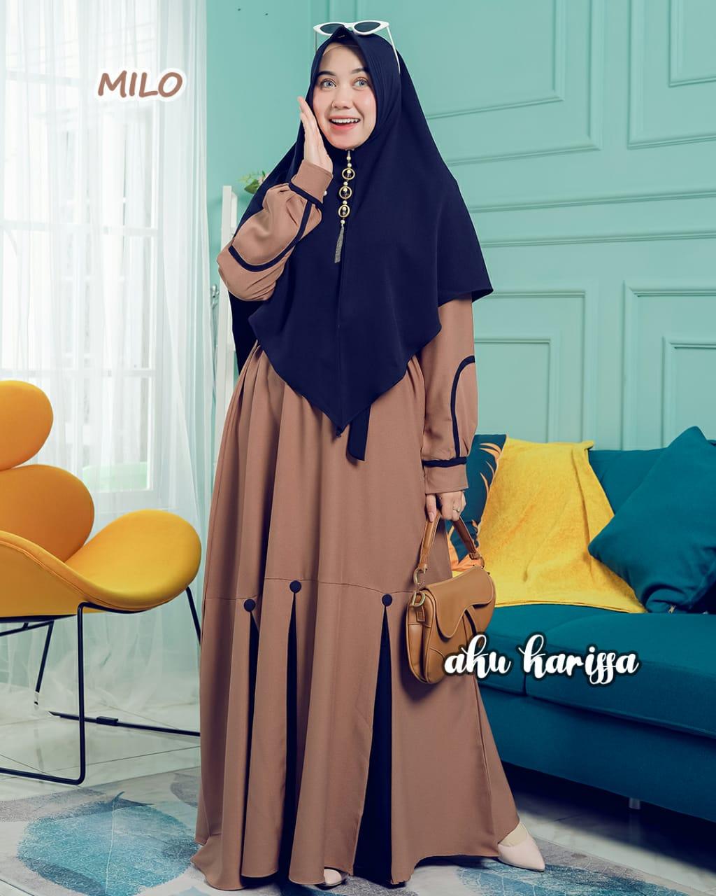 Gamis Set Khimar Azizah Ori By Aku Karissa Original Model Terbaru Fashion Wanita Terkini Lazada Indonesia