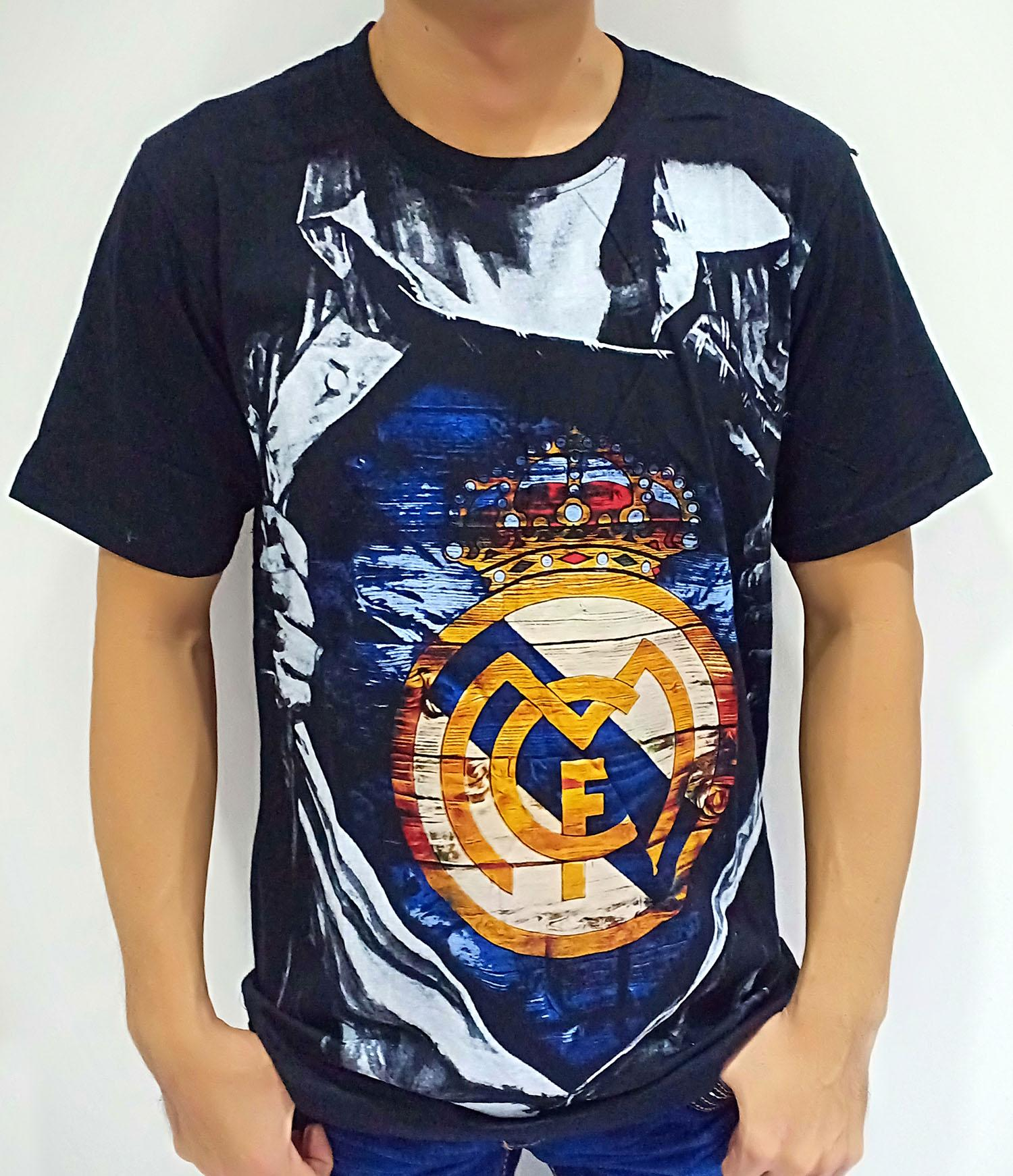 Cikitashop - Kaos T-Shirt Distro / Kaos Pria / T-Shirt Pria / Singlet Anime Premium Real Madrid