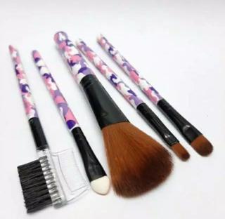 Kuas Make up Kosmetik Rias- Brush Make UP 5 Set In 1 Set Paket Kuas Makeup - Kuas Make Up Make up Brush Kuas Rias Alat Rias Alat Make Up Brush Make Up Alat Kecantikan thumbnail