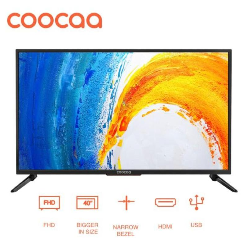 [GRATIS ONGKIR] COOCAA LED TV 40 inch - Full HD Panel - Slim - USB/HDMI (Model : 40D5A)