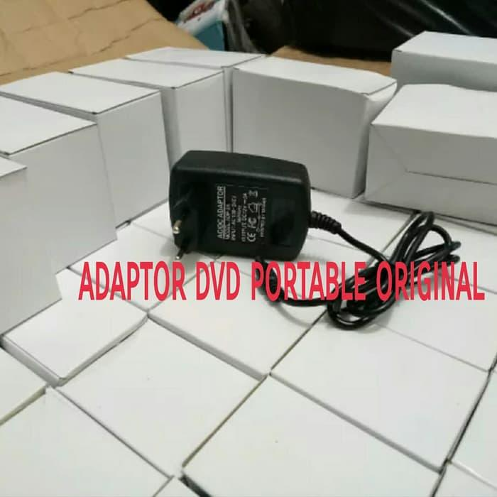 Charger Cas Adaptor DVD Portable Original