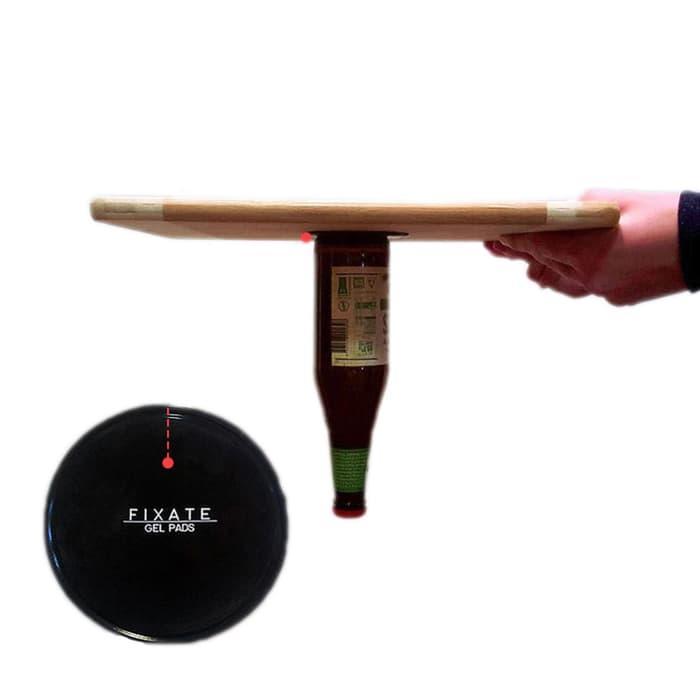 Fixate Gel Pads Super Sticky Model Bulat - Black