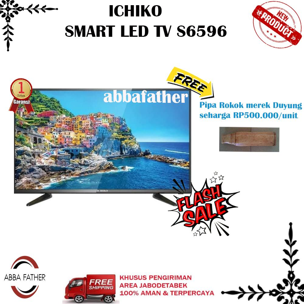 ICHIKO SMART LED TV S6596-65 InchUHD-khusus jabodetabek