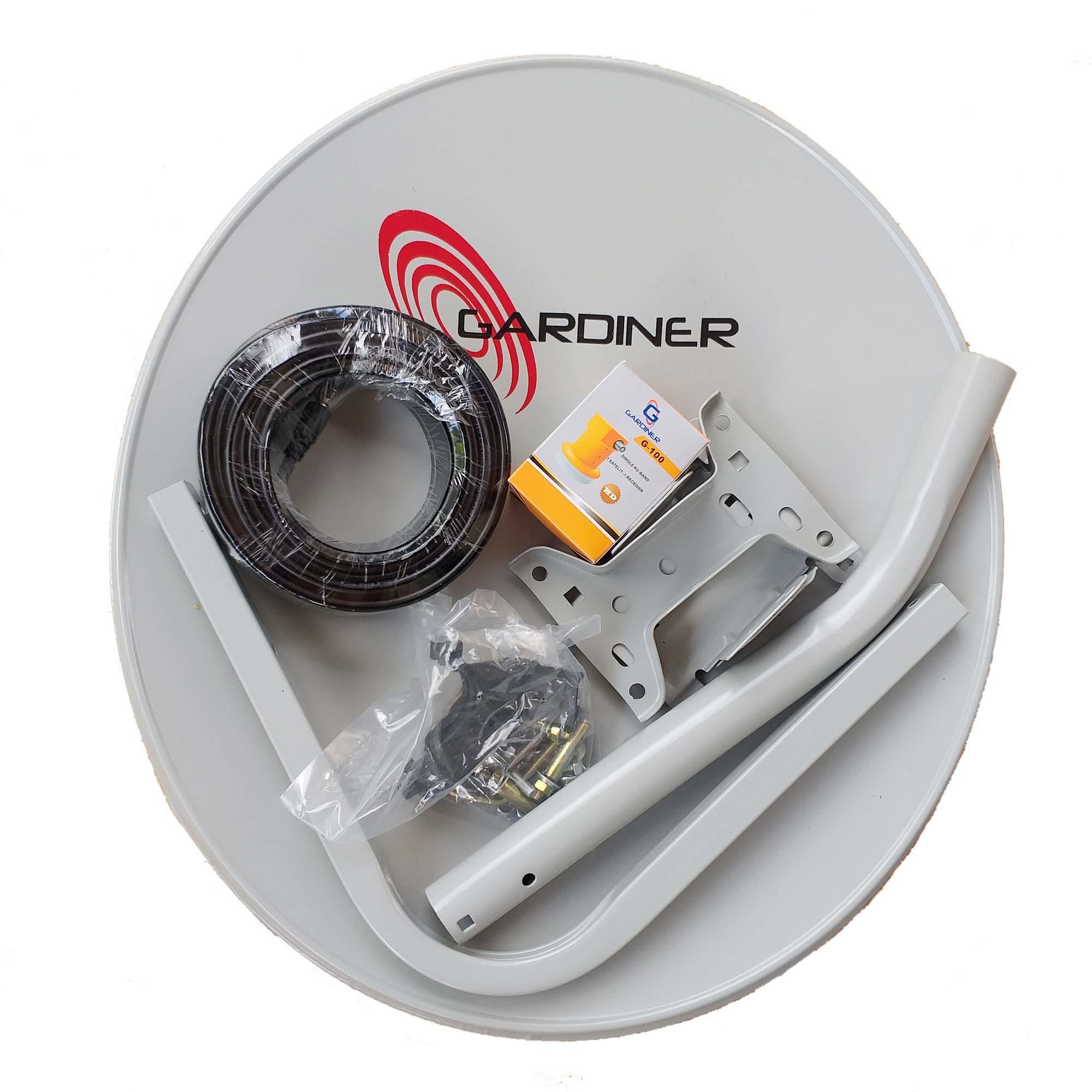 Antena Parabola Mini ODU Ninmedia Lnb + Kabel [tanpa Receiver]