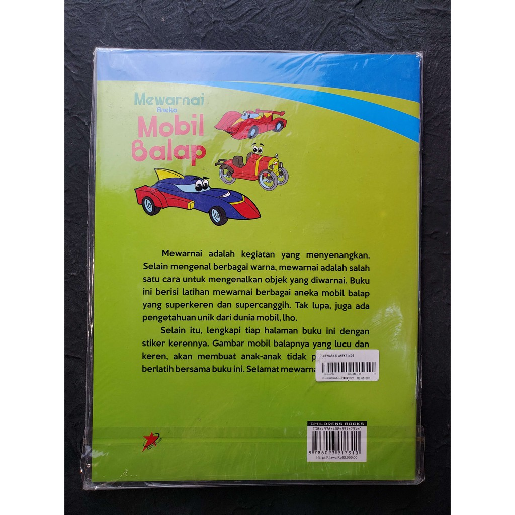 Mewarnai Aneka Mobil Balap Lazada Indonesia