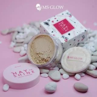 Ms Glow Loose Powder untuk kulit normal dan berminyak loose powder oily matte powder hay shine MSGLOW bedak ms glow untuk kulit glowing bedak tahan 24 jam bedak tabur ms glow untuk kulit berjerawat thumbnail