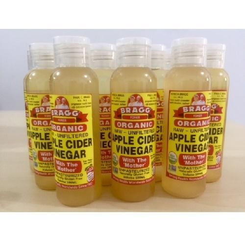 TONER Obat Jerawat BRAGG Cuka Apel Botol Flip 100ml Ratio 1:3 (Aqua)
