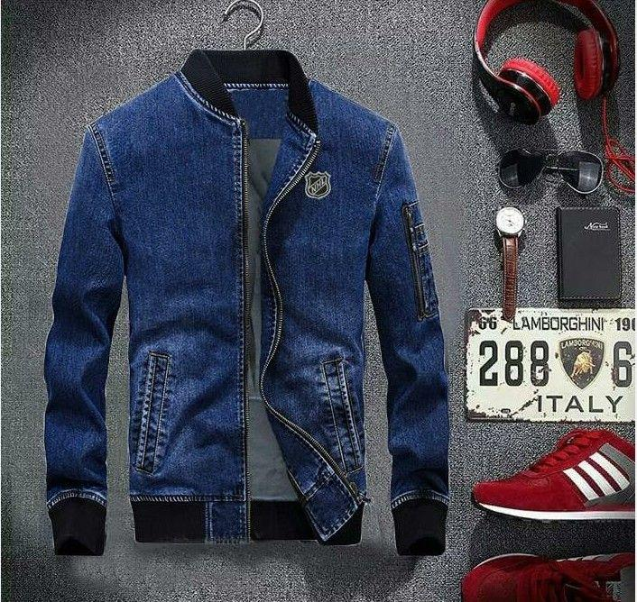 Ruko Harga terbaik Cc-bomber jeans nihil-bahan jeans-jaket pria ... 9ba2d6677c