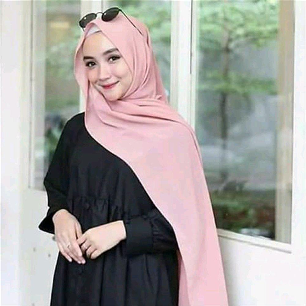 jilbab Pashmina Sabyan Diamond Italiano Hijab Segi Empat hijab panjang kerudung