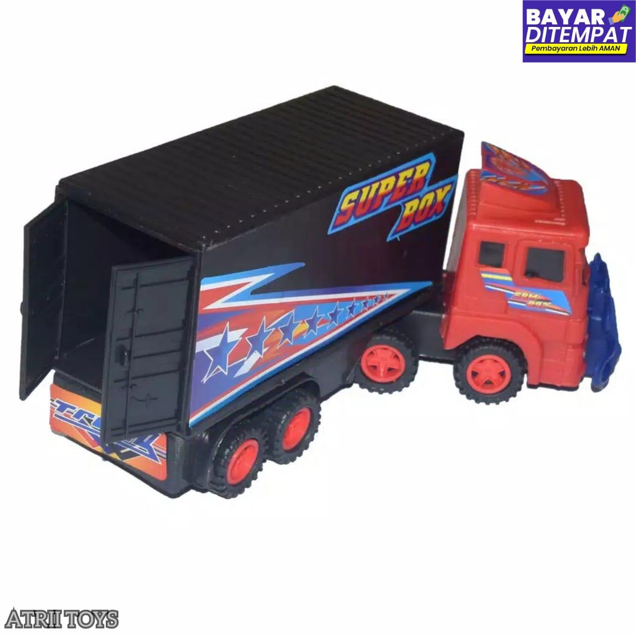 Mainan Mobil Box Container Diecast Alat Berat Murah Mainan Mobil Truck Box Mainan Mobil Super Box Mainan Edukasi Anak Lazada Indonesia