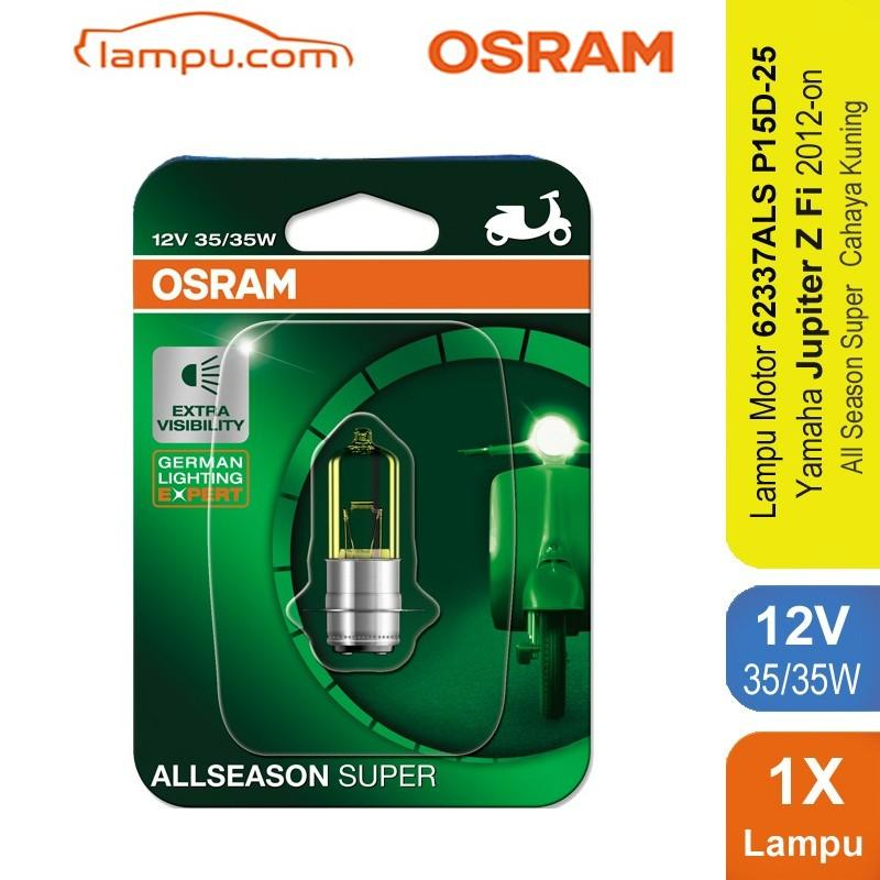 Osram Lampu Depan Motor Yamaha Jupiter Z Fi 2012-on - 62337ALS - All Season Super