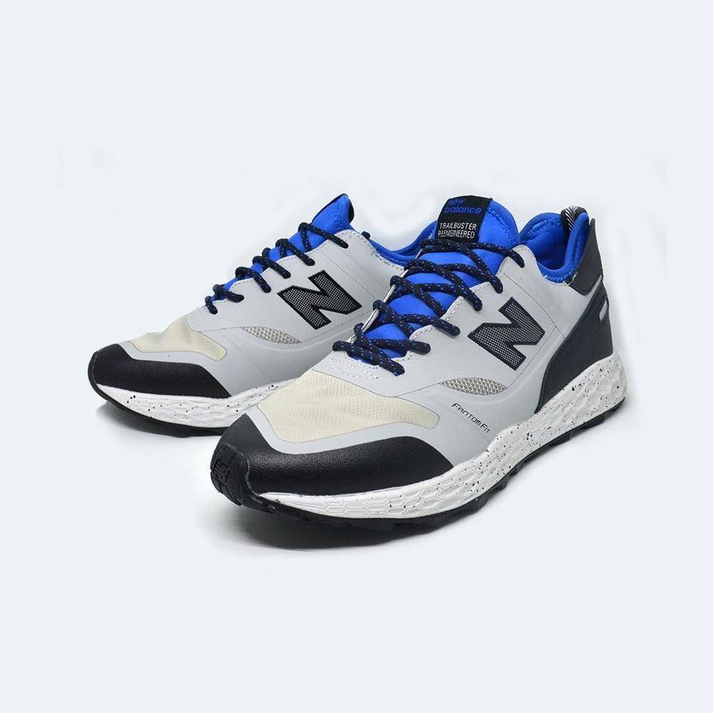 Sepatu New Balance1 Trailbuster Foam Fit Warna Navy, Sneakers Sports Shoes Mens, Sepatu Olahraga Running dan Fitnes Pria