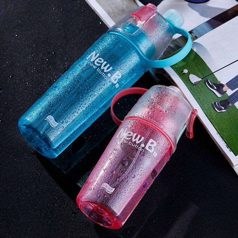 Hori Botol Sepeda 600 Ml Olahraga Semprot Gelas Plastik Korea Semprotan Air Cangkir Ruang