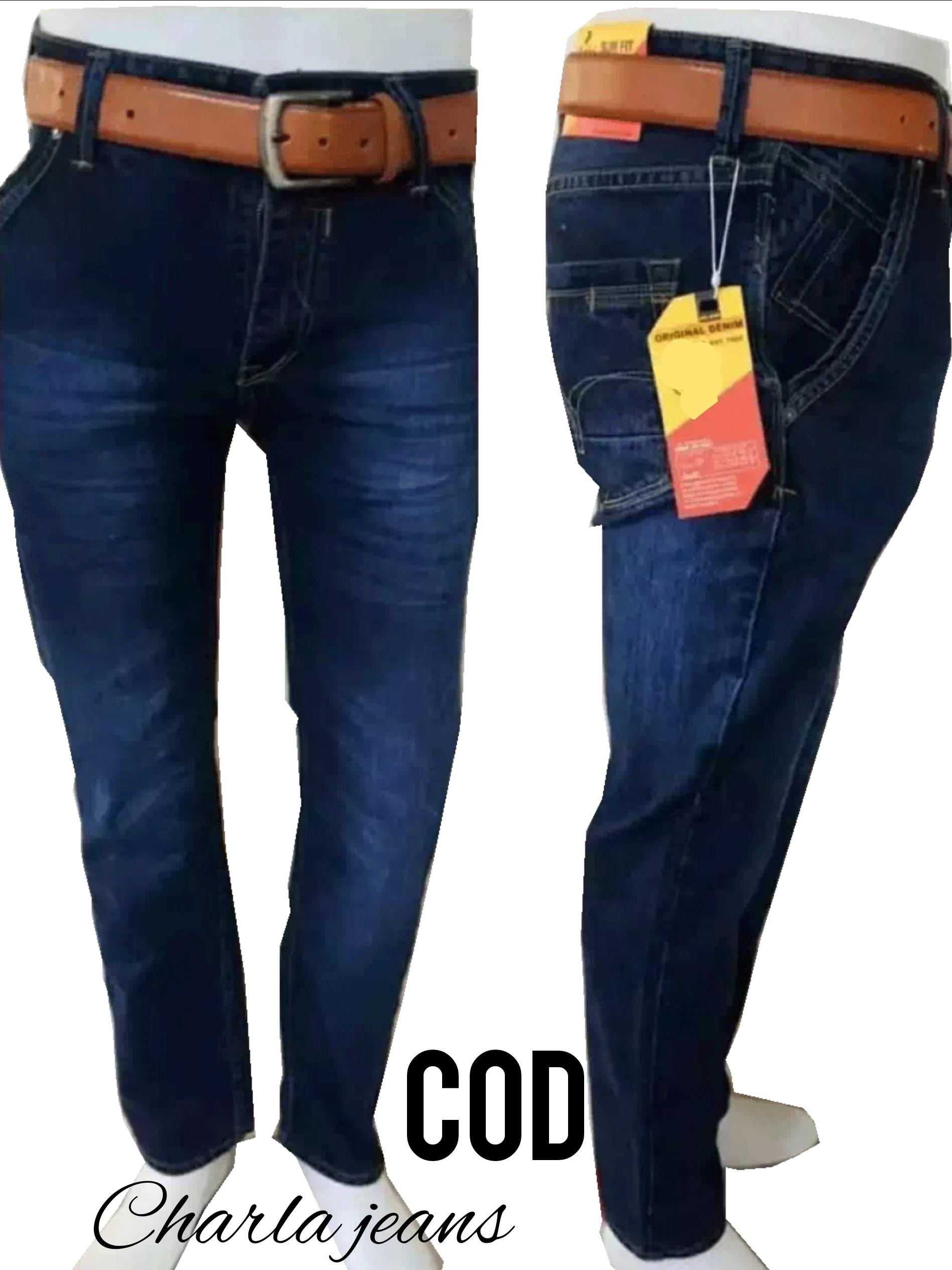 Celana jeans panjang original fashion pria harga promo  367ecaecef