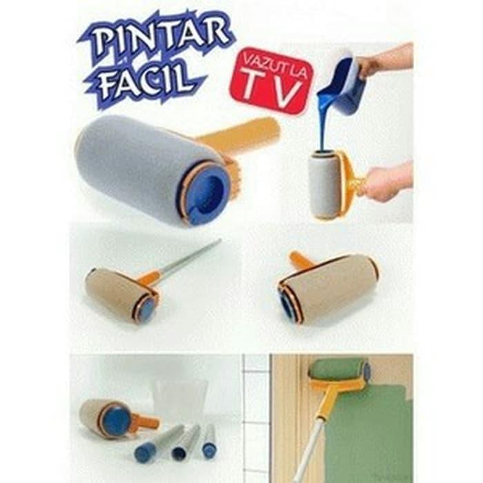 Kuas Cat Tembok Roller - Paint Roll Alat Untuk Cat Dinding Rumah Pintar Facil Tool By Hokky.