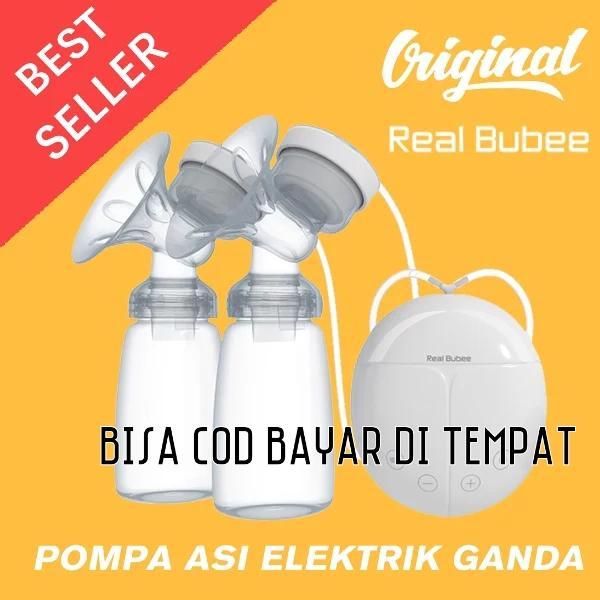 COD Pompa asi elektrik ganda Real Bubee pompa asi murah double pump